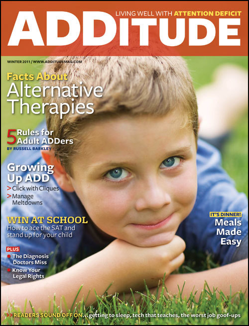 Winter 2011: Facts About Alternative Therapies
