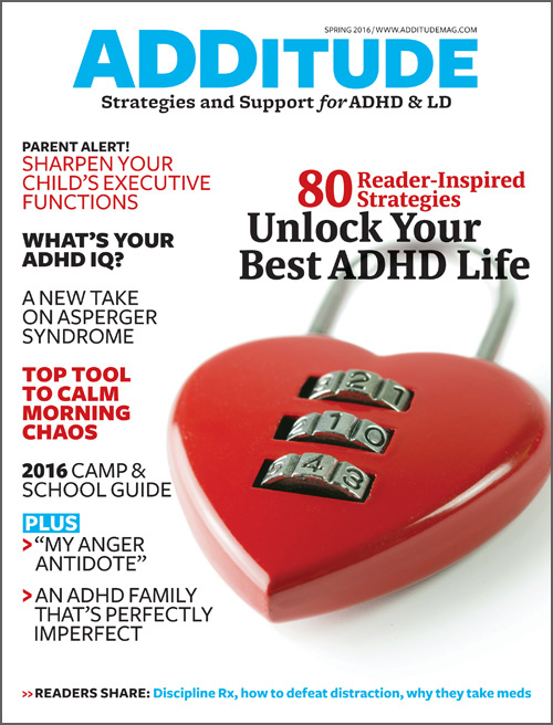 Spring 2016: Unlock Your Best ADHD Life