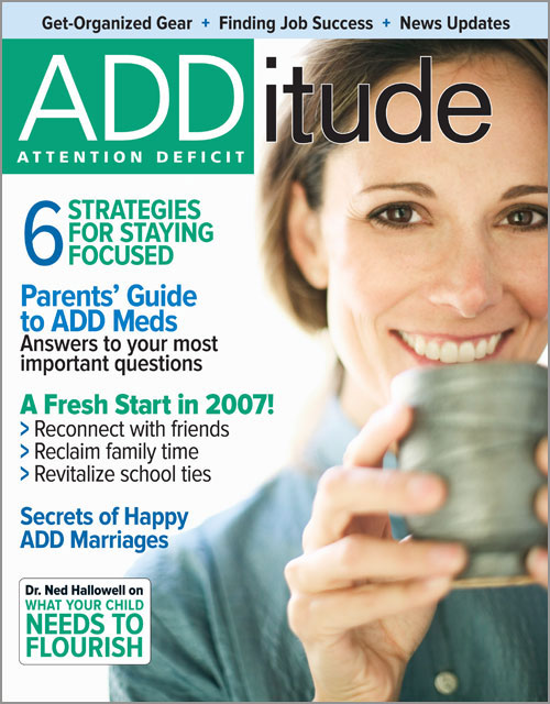 January 2007: How to Stay Focused