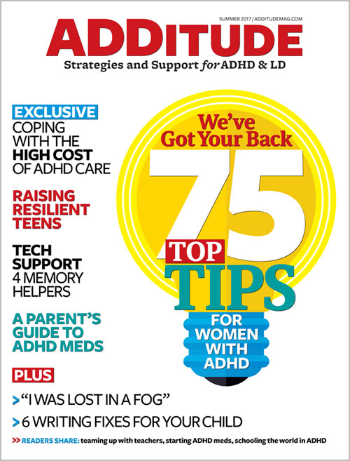 Summer 2017: 75 Tips for Women with ADHD